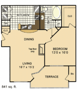 One bedroom apartments for rent in San Antonio