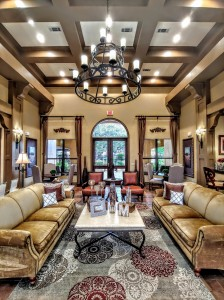 2 Bedroom Apartments in San Antonio, TX - Clubhouse Lobby