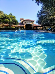 2 Bedroom Apartments in San Antonio, TX - Pool & Clubhouse