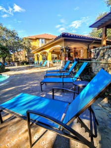 2 Bedroom Apartments in San Antonio, TX - Poolside Area