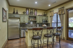 One Bedroom Apartments in San Antonio, TX - Clubhouse Kitchen