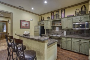 One Bedroom Apartments in San Antonio, TX - Clubhouse Kitchen (2)