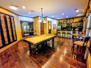 One Bedroom Apartments in San Antonio, TX - Pool Table