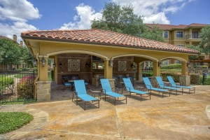 Three Bedroom Apartments in San Antonio, TX - Poolside Area