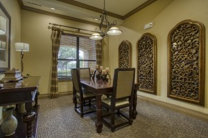 Two Bedroom Apartments in San Antonio, TX - Clubhouse Dining Area