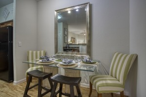 1 Bedroom Apartments in San Antonio, TX - Model Dining Room