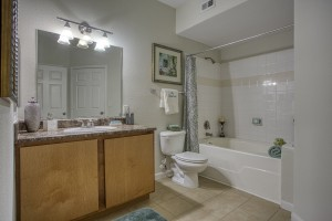 Three Bedroom Apartments in San Antonio, TX - Model Bathroom