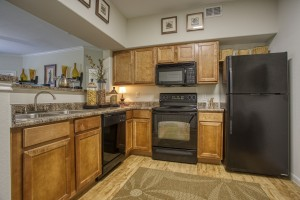Three Bedroom Apartments in San Antonio, TX - Model Kitchen