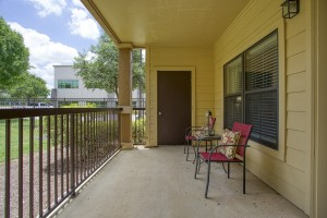 Three Bedroom Apartments in San Antonio, TX - Patio