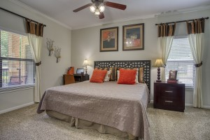Two Bedroom Apartments in San Antonio, TX - Model Bedroom
