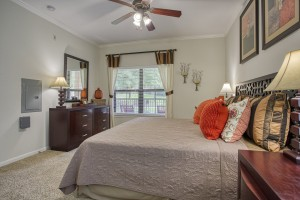 Two Bedroom Apartments in San Antonio, TX - Model Bedroom (2)