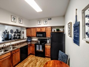 One Bedroom Apartments in San Antonio, TX - Model Kitchen Interior
